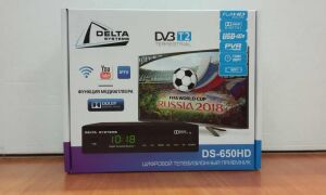 Обзор эфирной цифровой приставки Delta Systems DS 650HD