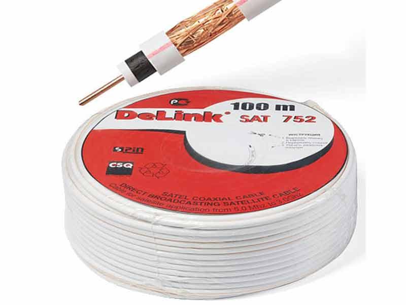 Бухта коаксиального кабеля