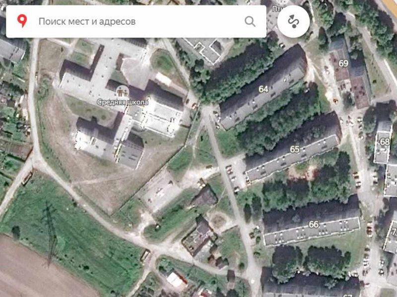 Спутниковая карта