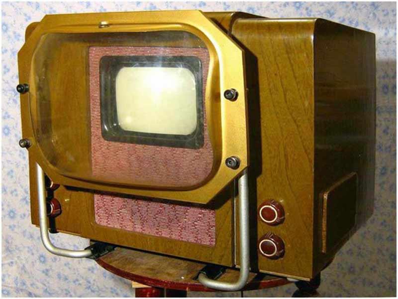 Первый телевизор в СССР КВН