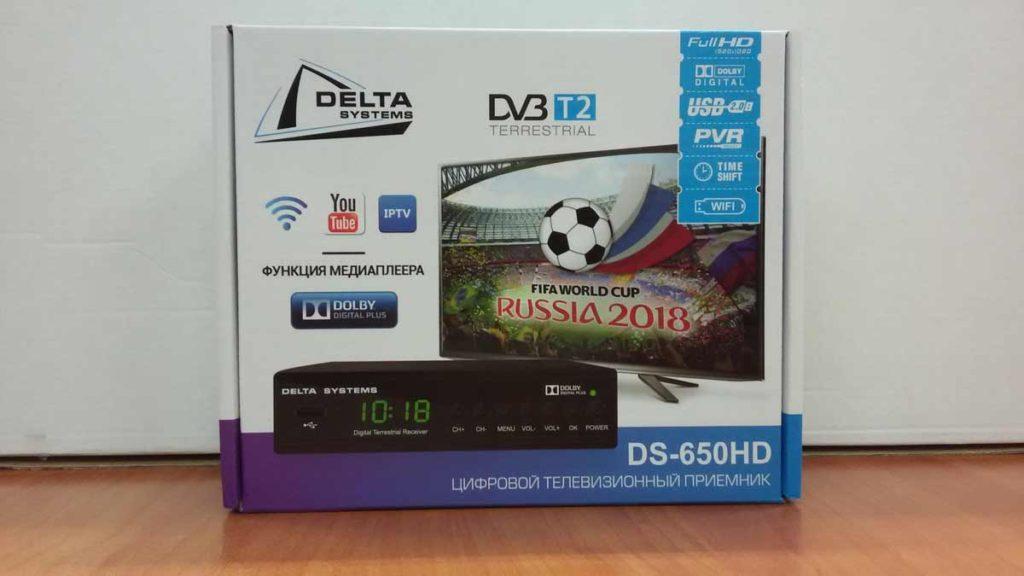 цифровая эфирная приставка DS 650HD