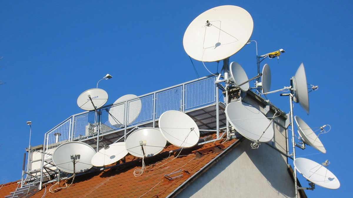 Антенна для приёма спутникового тв