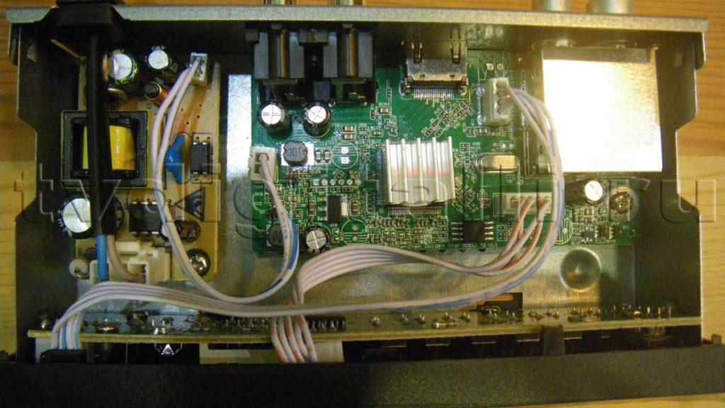DS 650HD изнутри