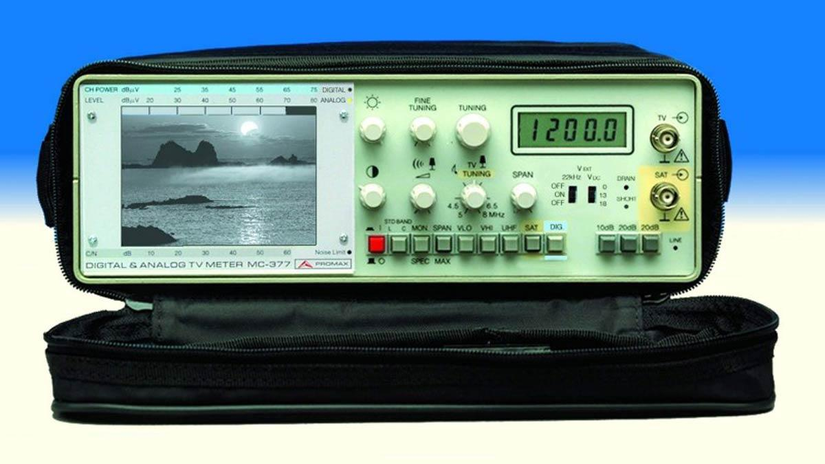 Прибор для настройки спутниковой антенны
